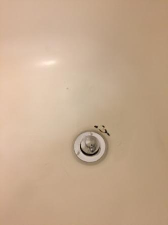 Fairfield Inn & Suites Brunswick Freeport : Tub surface was unsightly, needs repair/refinish