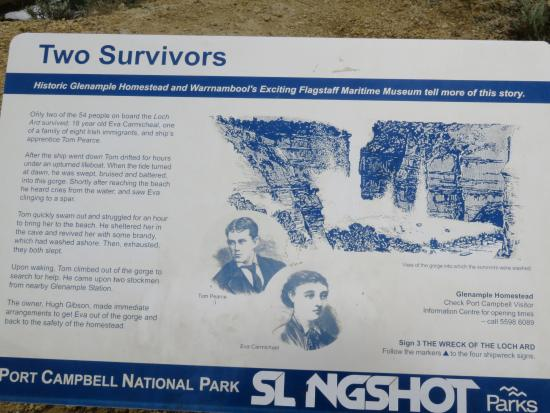 Story of survivors of the Loch Ard wreck - Picture of The