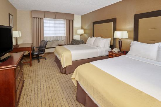 Carol Stream, Ιλινόις: Double Bed Guest Room