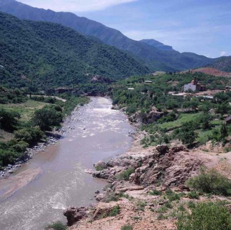 Satevo Mission: Die Mission neben dem Rio Fuerte