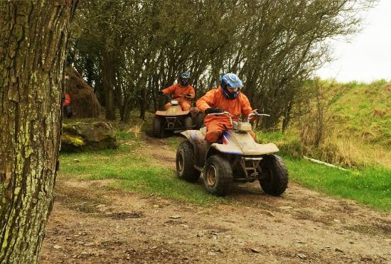 Inniskeen, Ireland: Quad Biking at Irish Country Quads
