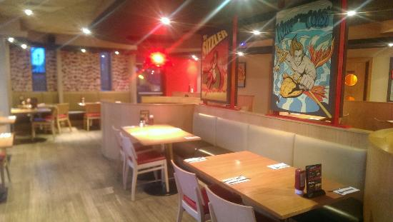 Pizza Hut: Lovely new look