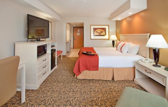 Holiday Inn Kearney: King Bed Guest Room