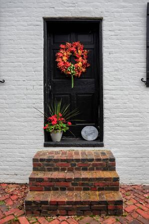Locust Dale, VA: A Cottage door