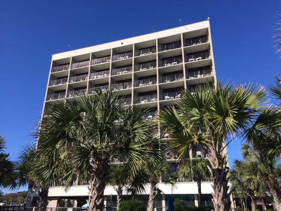 Windsurfer Hotel Fe Do Visto Da Praia
