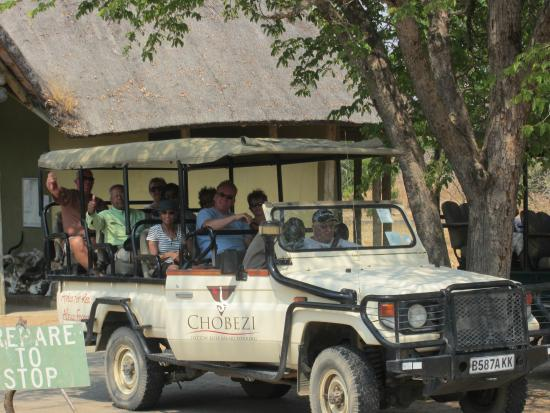 Kazungula, Zambiya: Safari Vehicle
