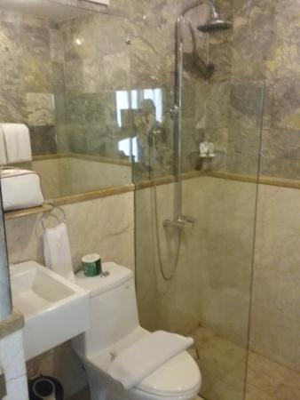 Bali Court Hotel and Apartments: bathroom
