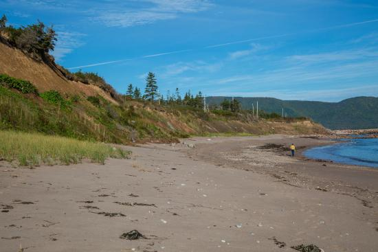 Dingwall, Canadá: The beach area.  Great for walking.