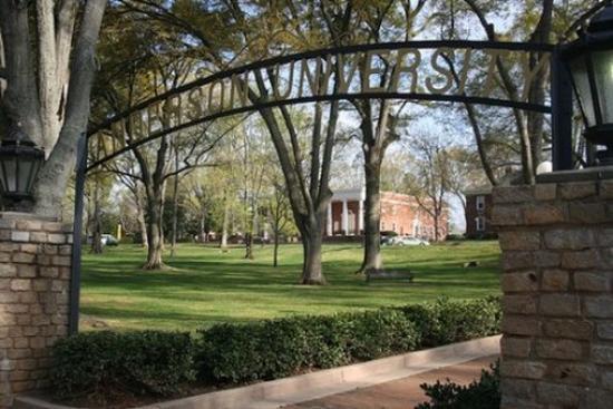แอนเดอร์สัน, เซาท์แคโรไลนา: Anderson University Campus