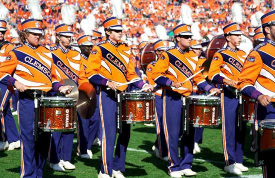 แอนเดอร์สัน, เซาท์แคโรไลนา: Clemson Percussion