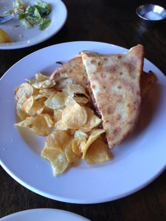 FIVE Restaurant Bistro: carne asade sandwich