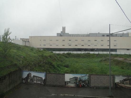 Elizabeth's Youth Hostel: There is nothing to see from the room window