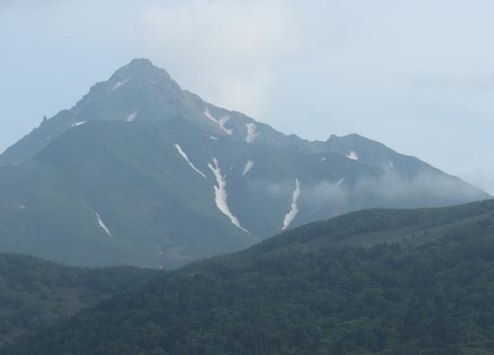 Rishirifuji-cho, Japonia: 部屋から見えた利尻富士