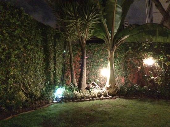 Hostal de La Rabida: Jardín botánico