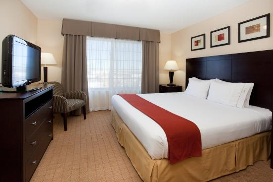 Englewood, CO : Holiday Inn Express Denver Tech Center King Bed Guest Room