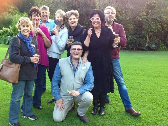 Blackwaters River Lodge : Fun during a very successful Skål International function
