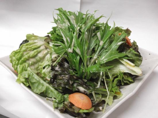 Ushi ga Umai: 水菜サラダ