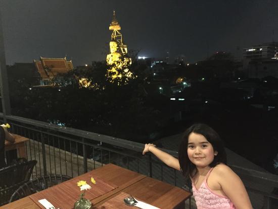 Phranakorn-Nornlen Hotel: terrasse