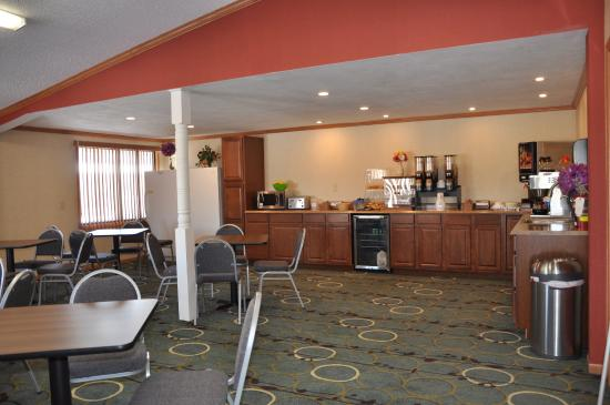Knights Inn Syracuse / Liverpool: Breakfast Area
