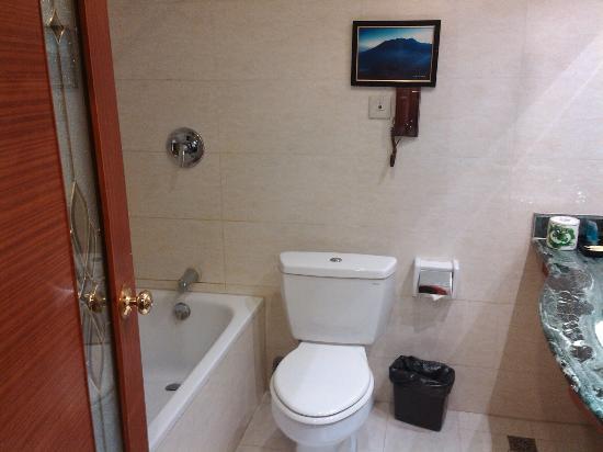 Mao County, China: The Bathroom