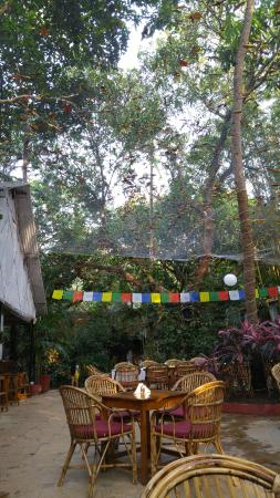 Anjuna, Indien: The Restaurant