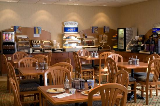 Holiday Inn Express Suites Airdrie: Don't forget to try our signature cinnamon rolls
