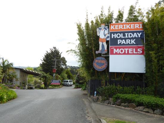 Kerikeri Holiday Park & Motels: Sign of Kerikeri Holiday Park
