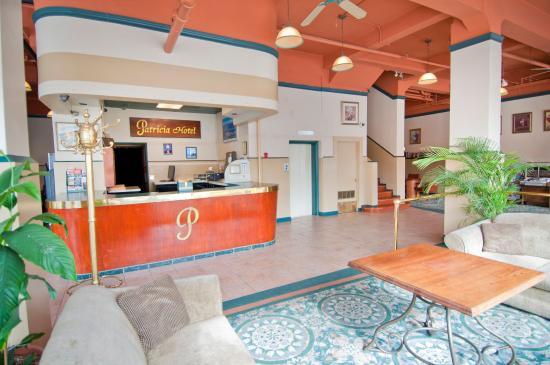 Patricia Hotel: Hotel Lobby