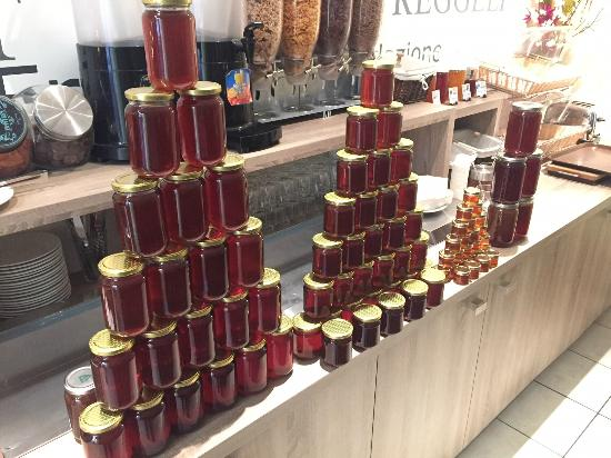 Grand Hotel le Florence: Notre production 2015 / Our honey 2015
