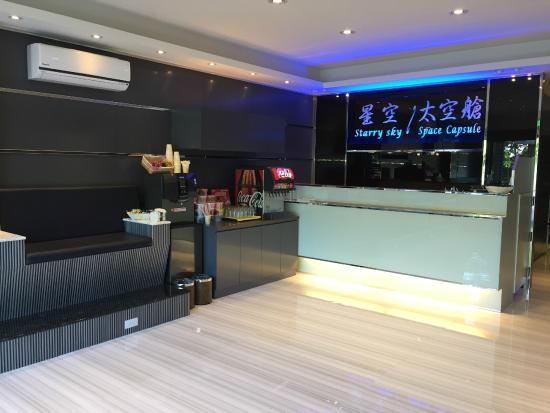 Starry Sky Boutique Hotel / Space Capsule: 『大廳』接待櫃台