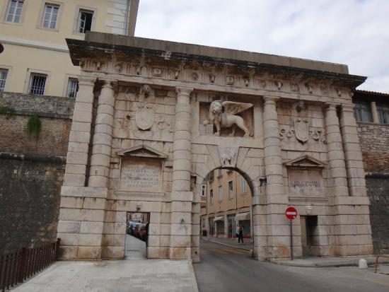 Zadar Land City Gates: Mainland Gate (Kopnena vrata)