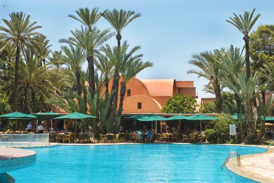 Hotel Marrakech le Semiramis : Swimming Pool