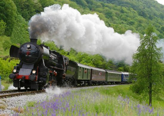 Jesenice, สโลวีเนีย: Steam train | Foto: Leon Hmeljak