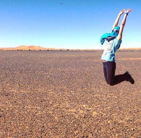 Hotel Ksar Merzouga: Deserto del Sahara