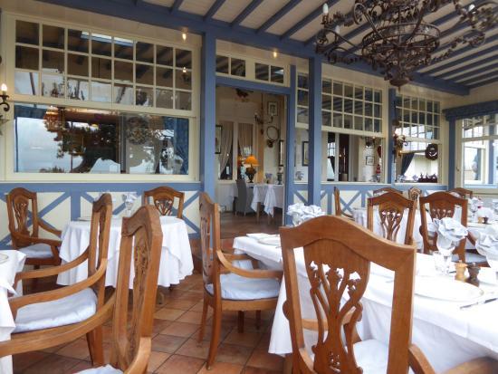 Villerville, Francia: La salle de restaurant