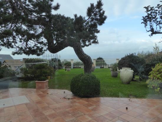 Villerville, Γαλλία: La terrasse
