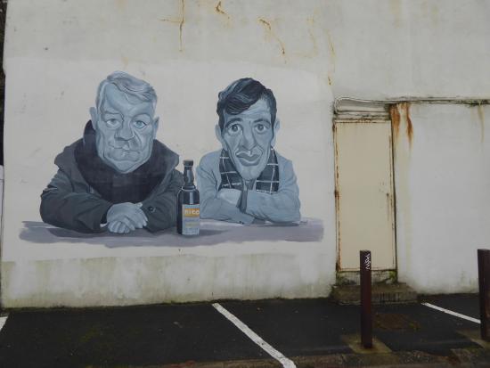 Villerville, Francia: Les acteurs d'un Singe en Hiver