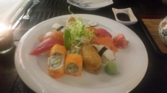 Tokyo Bay: Different kinds of sushi