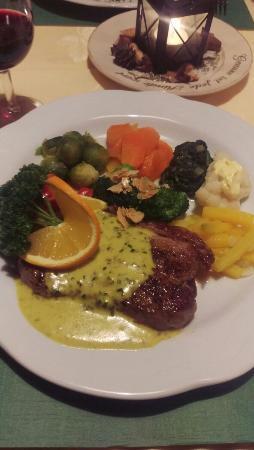 Schafhausen, Sveits: 3.11.15 Angus Steak