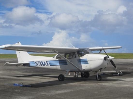 バリガダ, マリアナ諸島, セスナ機