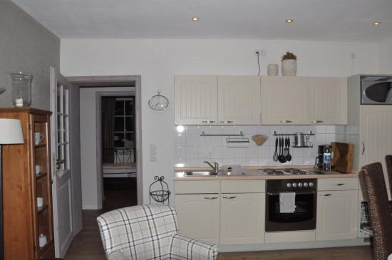 Landhaus Am Schultalbach: キッチン