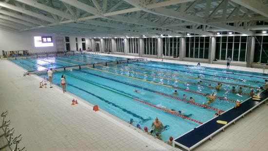 Cuneo, İtalya: La vasca Olimpionica
