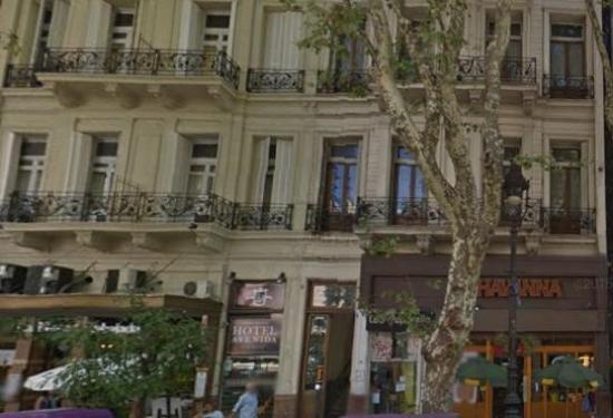 Hotel Avenida: fachada do hotel