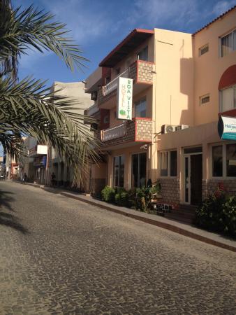 Hotel Boa Vista in the centre of Sal Rei