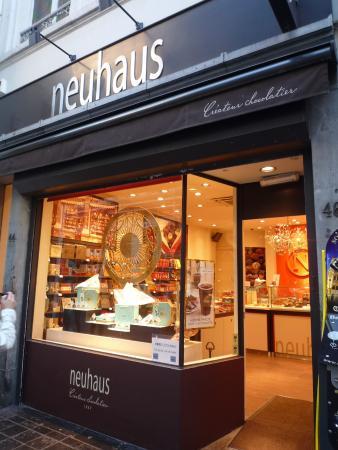 Neuhaus picture of neuhaus galerie de la reine l for Atelier de cuisine bruxelles