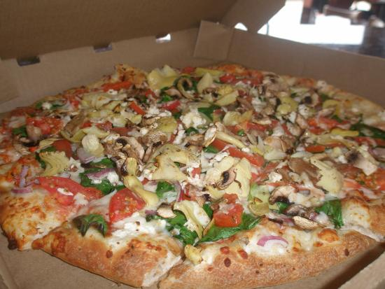 Fairview, TX: Our pizzas - made fresh for every order