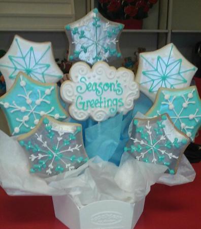 Cookies By Design Winter Cookie Bouquet