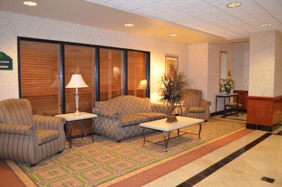 Wingate by Wyndham Chesapeake: Lobby seating area