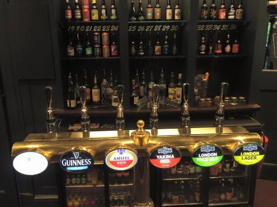 PubLove at The Steam Engine: Beer taps