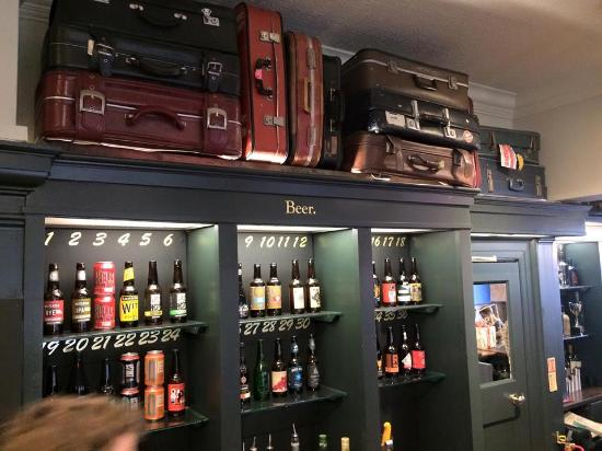 PubLove at The Steam Engine : suitcases